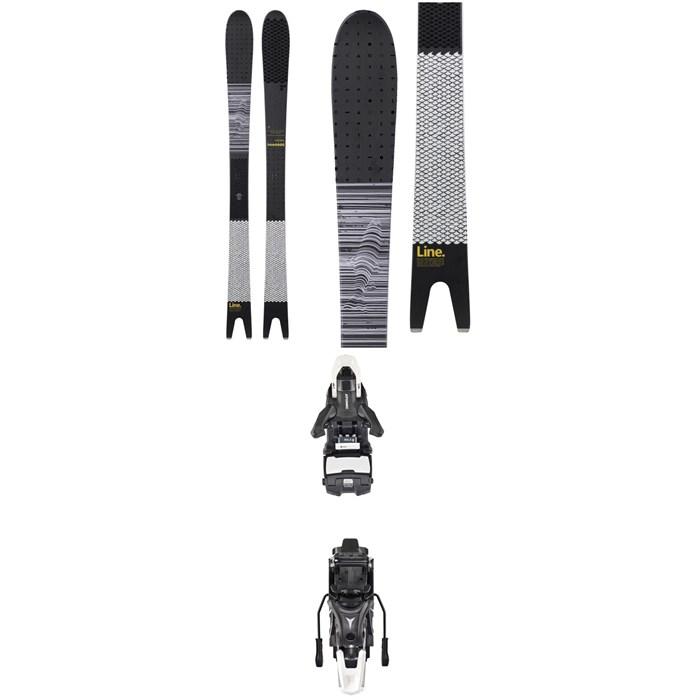 Line Skis - Sakana Skis + Atomic Shift MNC 13 Alpine Touring Ski Bindings 2019