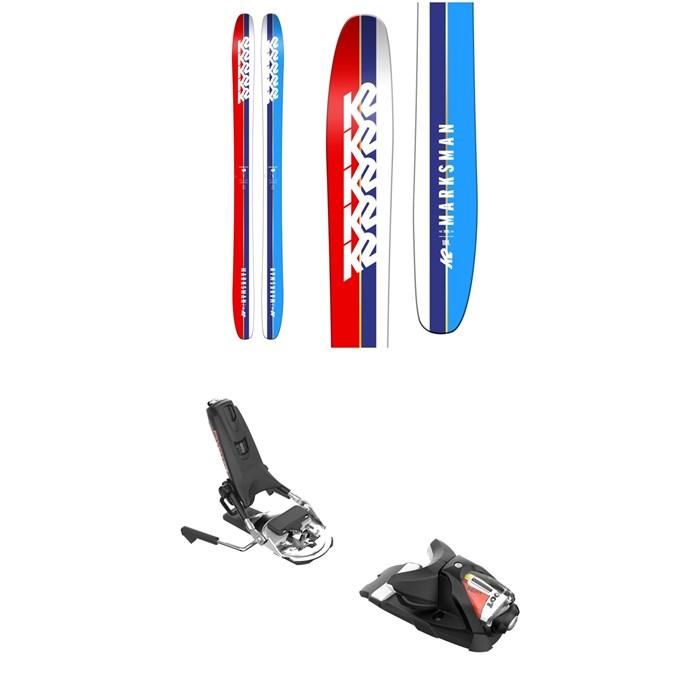 K2 - Marksman Skis + Look Pivot 14 AW Ski Bindings 2019