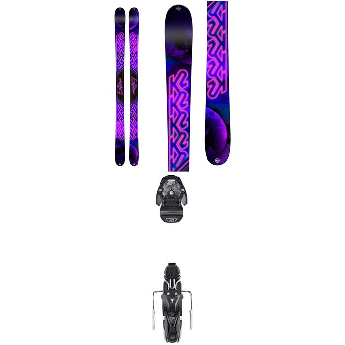 K2 - Empress Skis - Women's + Atomic Warden MNC 11 Bindings 2019