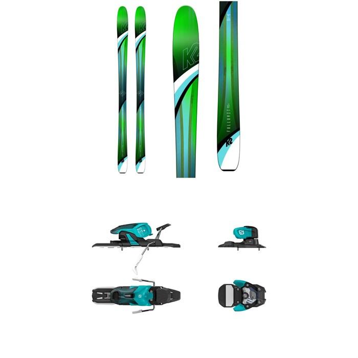 K2 - Fulluvit 95 Ti Skis - Women's 2019 + Salomon Warden 11 Ski Bindings 2018