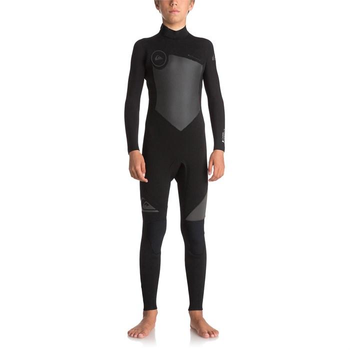 Quiksilver - 5/4/3mm Syncro Back Zip Wetsuit - Big Boys'