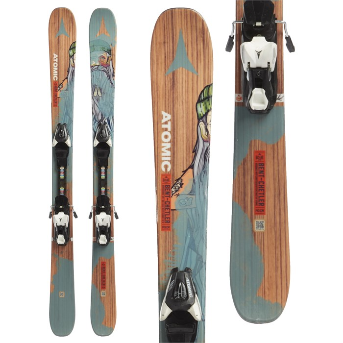 Atomic Backland BC Mini Skis + XTE 7.5 Bindings