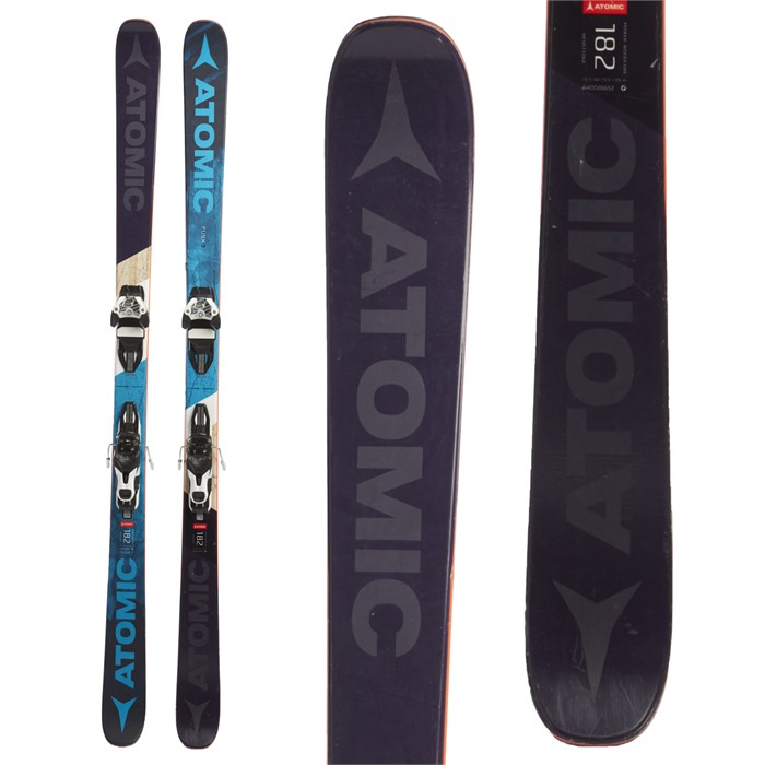 Atomic Punx 7 Skis + Warden 11 Bindings 2018 - Used