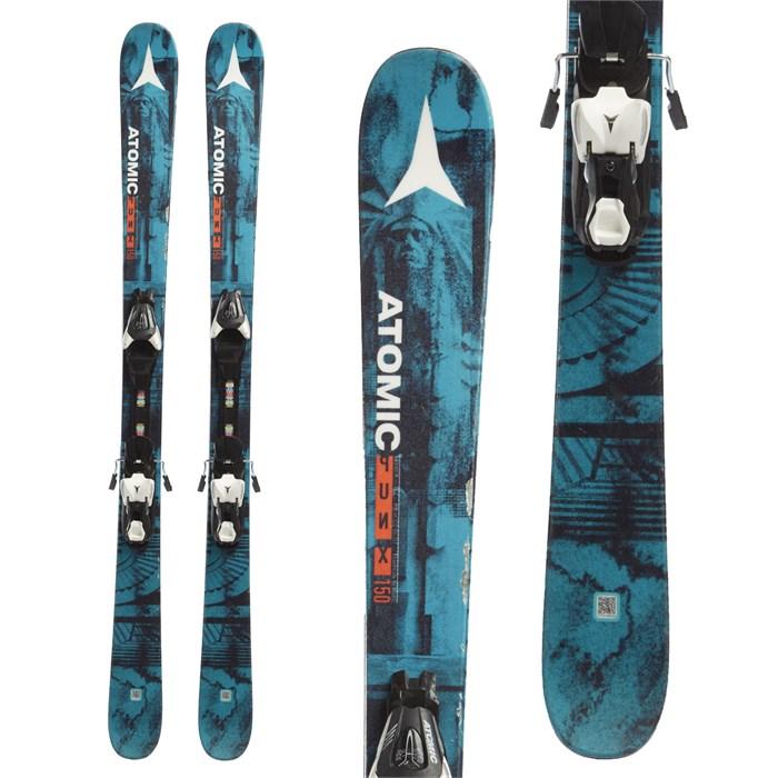 Atomic Punx Jr III Skis + XTE 7.5 Bindings
