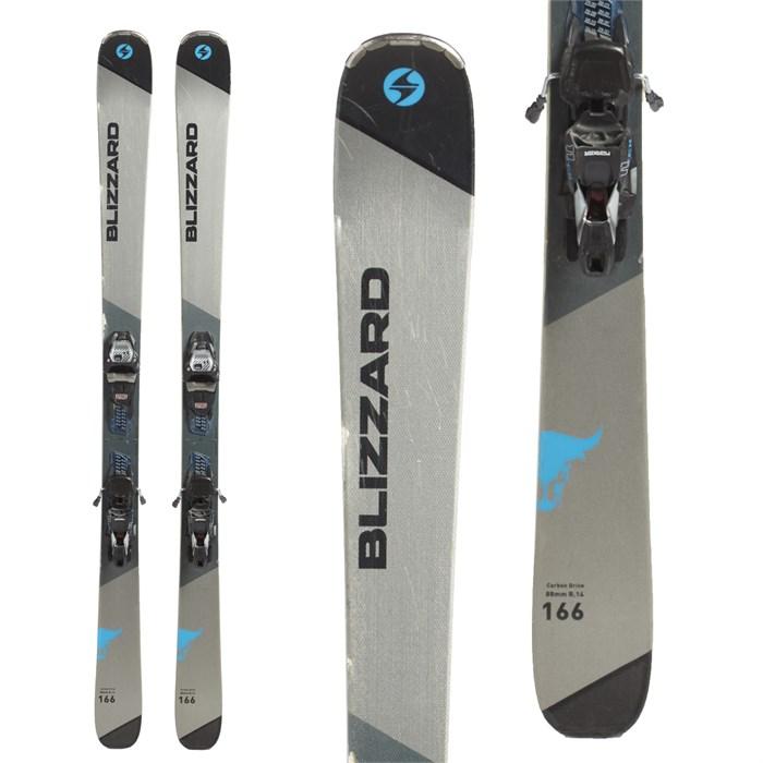 Blizzard - Brahma CA Skis + Marker TCX 11 Bindings 2018 - Used