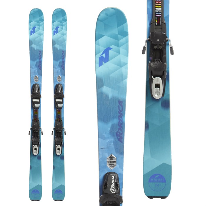 Nordica - Astral 84 Skis + Tyrolia SP 10 Bindings - Women's 2018 - Used