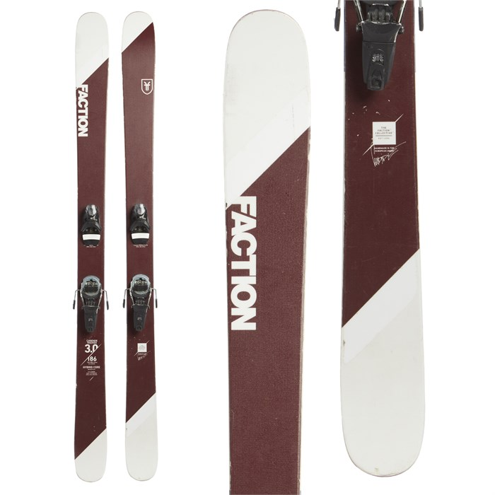 Faction Candide 3.0 Skis + Look Pivot 14 Dual WTR Ski