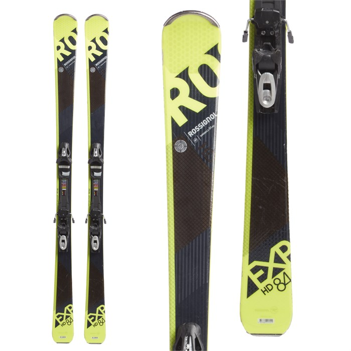 Used Ski Gear Evo Com >> Rossignol Experience 84 Hd Skis Tyrolia Sp 10 Bindings 2018 Used