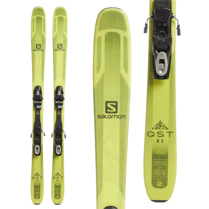 Salomon QST 85 Skis + Tyrolia SP 10 Bindings 2018 - Used