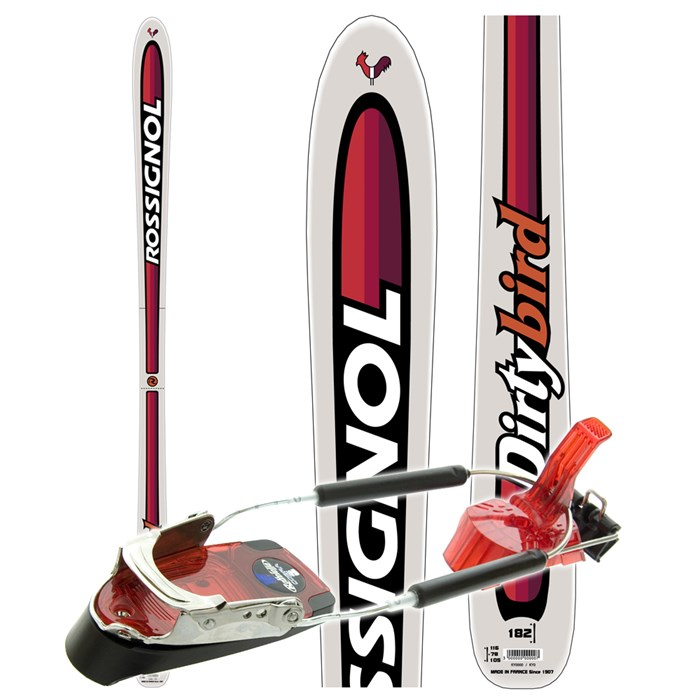 Rossignol - Dirty Bird Telemark Skis - Used 2007 ...