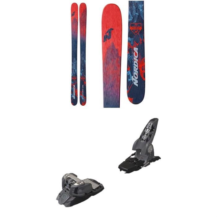 Nordica - Enforcer 100 Skis + Marker Griffon Ski Bindings