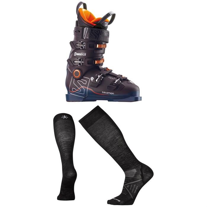 Salomon - X Max 120 Ski Boots + Smartwool PhD Ski Ultra Light Socks