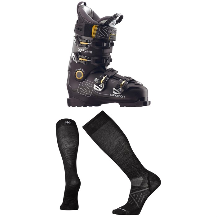 Salomon - X Pro 120 Ski Boots + Smartwool PhD Ski Ultra Light Socks