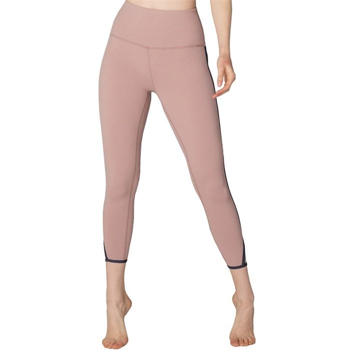 Beyond Yoga - Slip Open High Waisted Capri Leggings - Women's