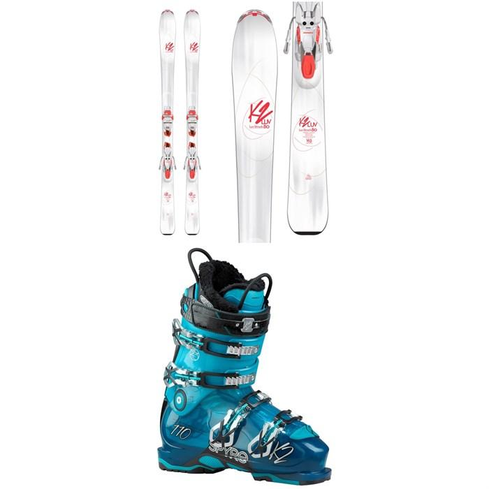 K2 - Luv Struck 80 Skis + ER3 10 TCx Light Bindings - Women's + Spyre 110 Ski Boots - Women's