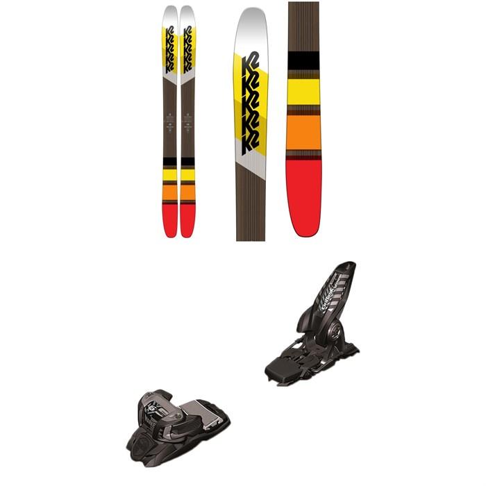 K2 - Marksman Skis + Marker Griffon Ski Bindings