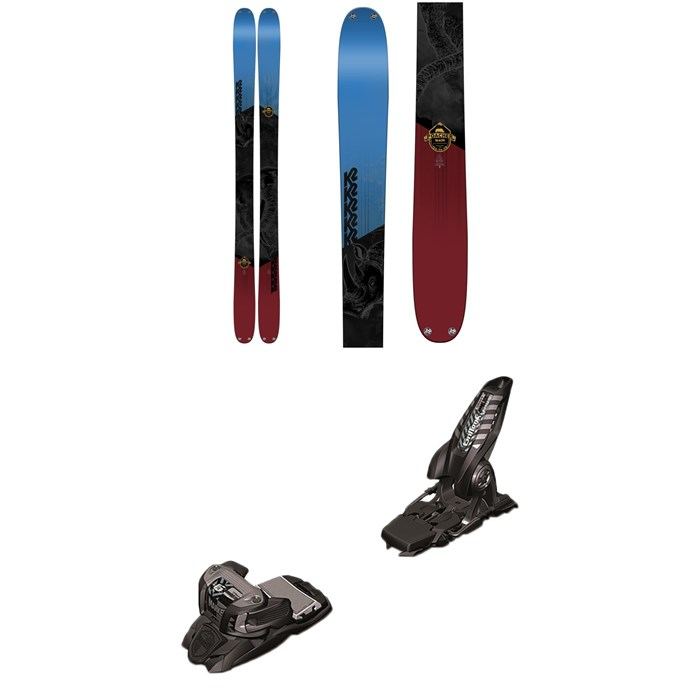 K2 - Poacher Skis  + Marker Griffon Ski Bindings