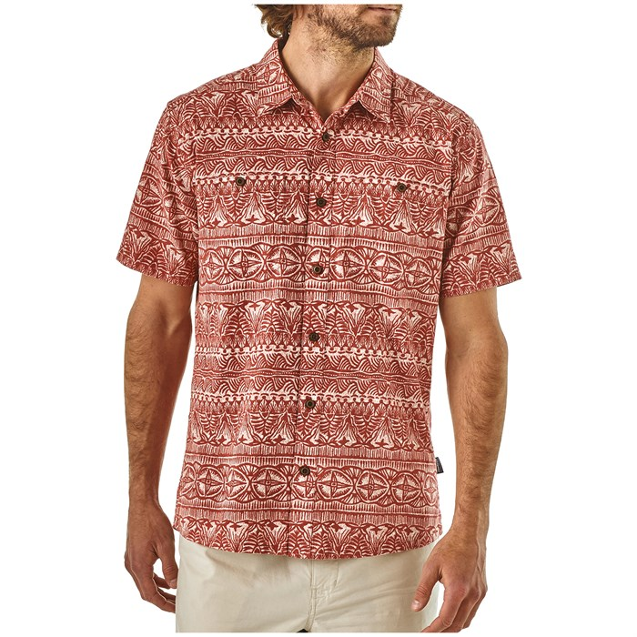 Patagonia - Back Step Short-Sleeve Button-Down Shirt
