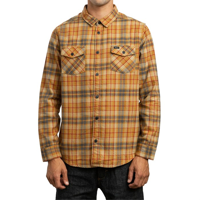 RVCA - Watt Flannel Long-Sleeve Shirt