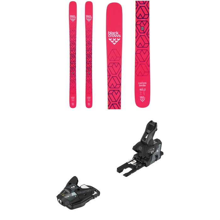 Black Crows - Camox Birdie Skis - Women's + Salomon STH2 WTR 13 Ski Bindings 2019