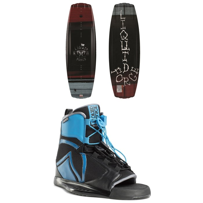 Liquid Force - Classic Wakeboard + Index Bindings 2019