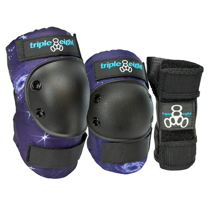 Triple 8 - Galaxy 3 Pack Skateboard Pad Set - Kids'