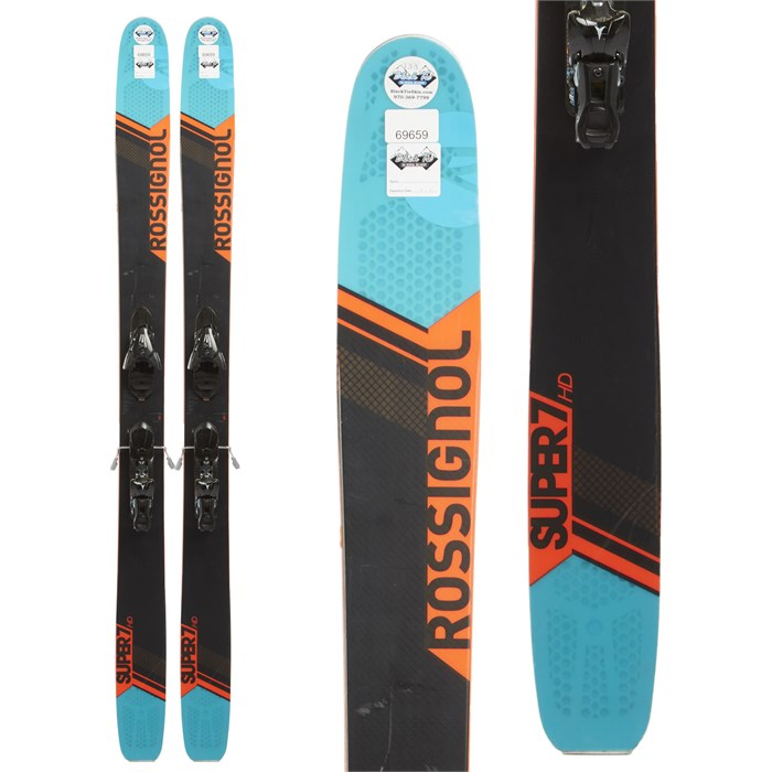 Rossignol Super 7 HD Skis + Atomic X12 Demo Bindings 2017