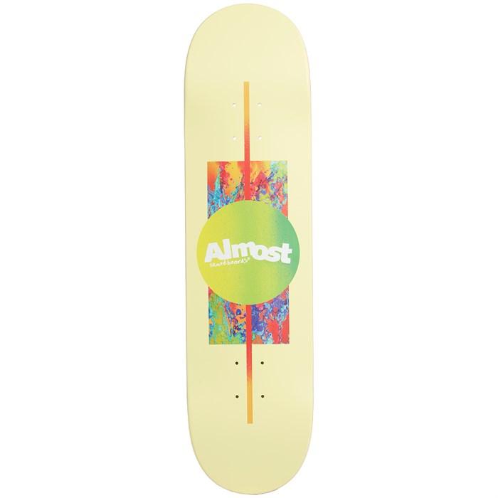 Almost - Gradient HYB Yellow 8.125 Skateboard Deck