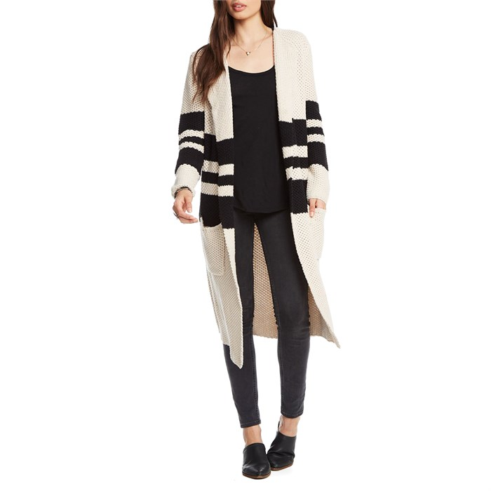 Chaser - Striped Duster Sweater - Women's