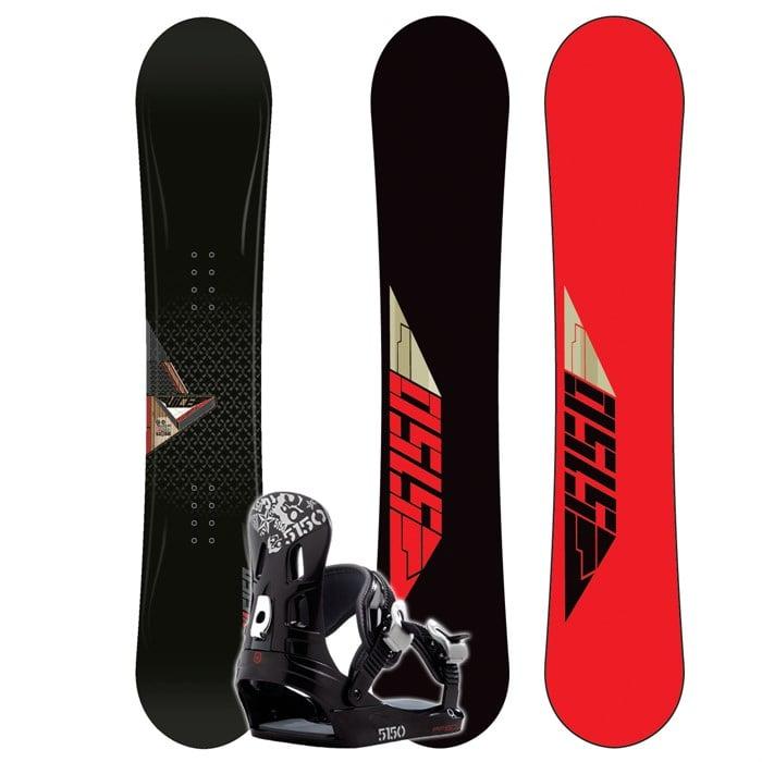 424ee6723384 5150 - Vice Snowboard + FF1500 (Black) Bindings 2008 ...