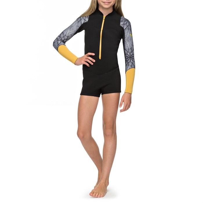 Roxy - 2mm Pop Surf Long-Sleeve Front Zip Springsuit - Girls'
