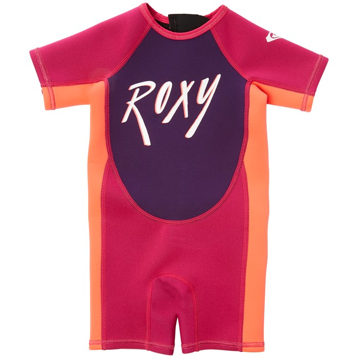 Roxy - 1.5mm Syncro Back Zip Springsuit - Little Girls'
