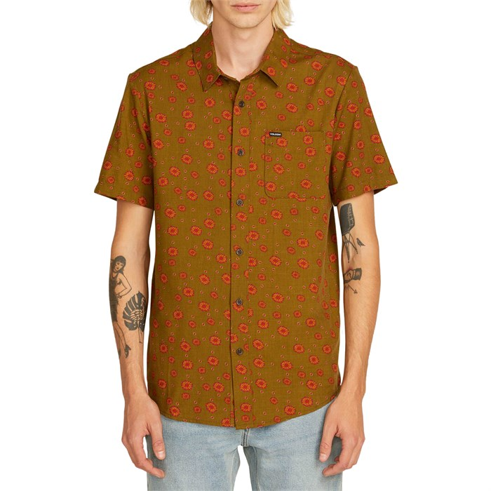 Volcom - Psych Dot Short-Sleeve Shirt