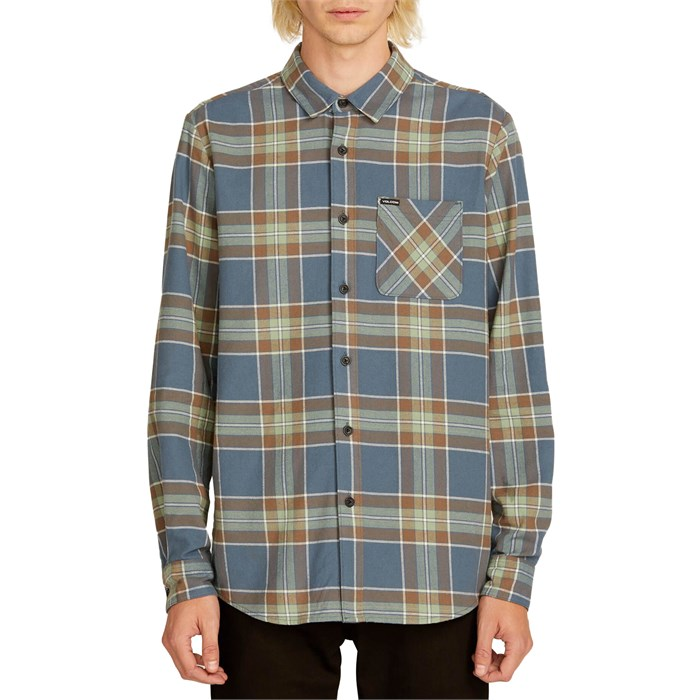Volcom - Caden Plaid Long Sleeve Shirt