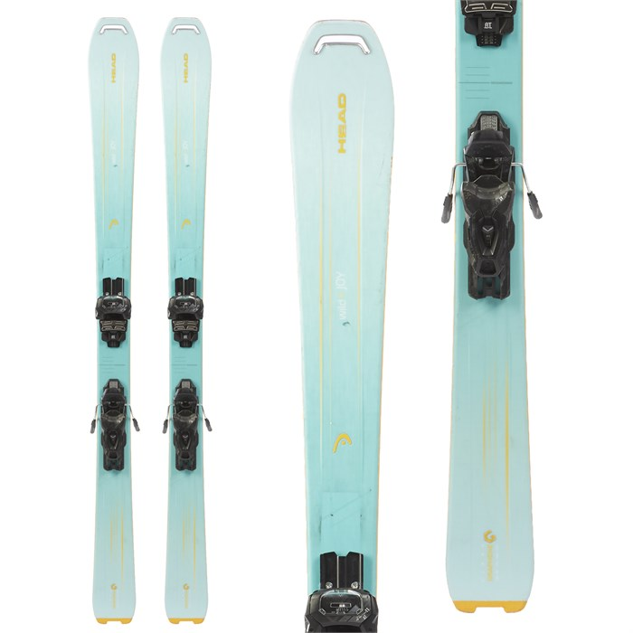 Head Wild Joy Skis + Tyrolia Attack 11 Demo Ski Bindings