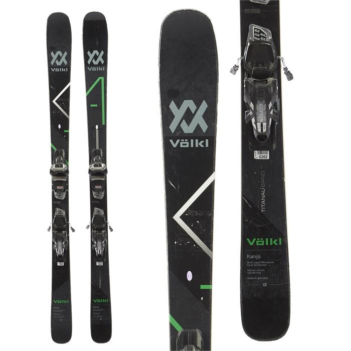 Volkl Kanjo Skis + Marker Griffon Demo Bindings 2018