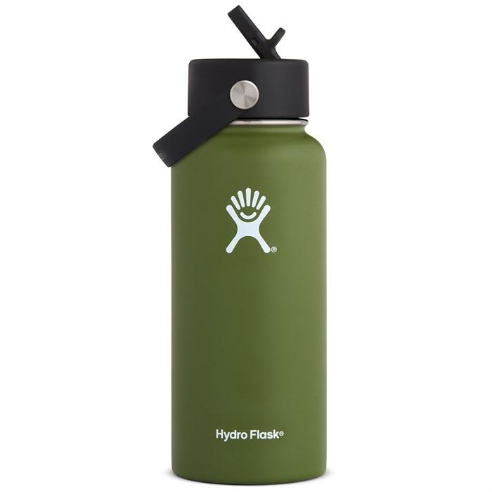 Hydro Flask - 32oz Wide Mouth Flex Straw Lid Water Bottle