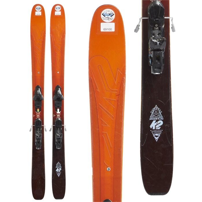 K2 - Pinnacle 105 Skis + Atomic X12 Demo Bindings 2017 - Used