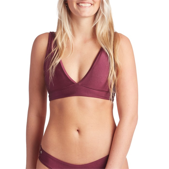 Maaji - Beach Plum Allure Reversible Bikini Top - Women's
