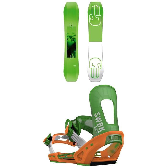 Bataleon - Wallie Snowboard + Switchback Smith Snowboard Bindings 2019