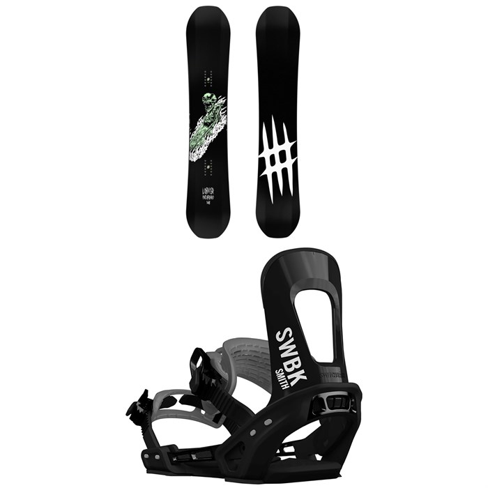 Lobster - Park Snowboard + Switchback Smith Snowboard Bindings 2019