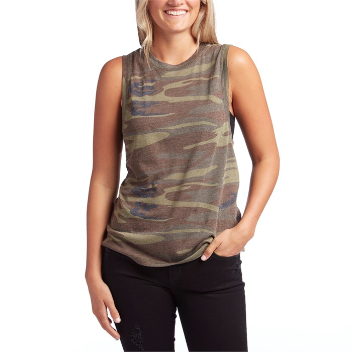 a9f75a4d41705 Z Supply - The Camo Muscle Tank Top - Women's ...