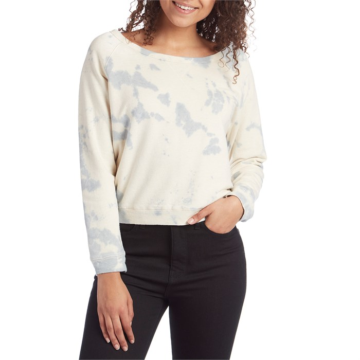 Mollusk - Tie Dye Crew Fleece - Women's