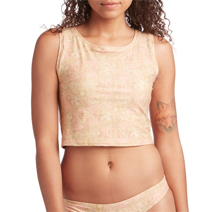 Mollusk - Cropped Surf Tank - Women's