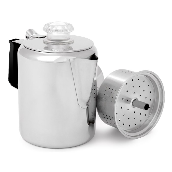 GSI Outdoors - Glacier Stainless 3 Cup Percolator
