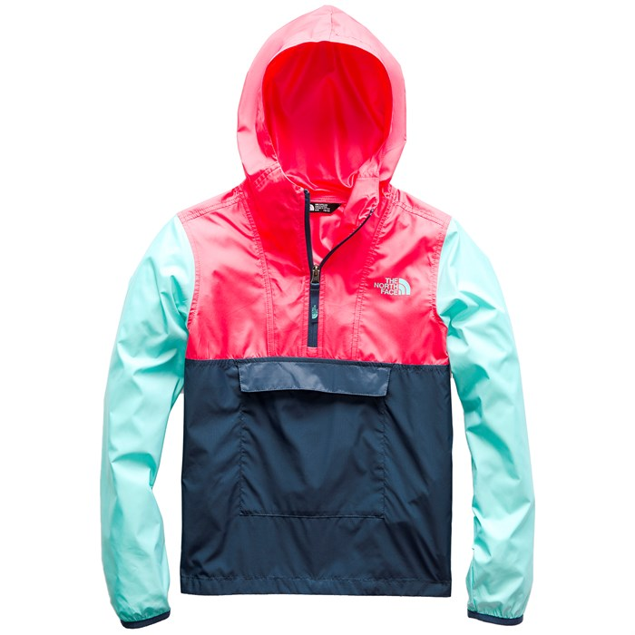 The North Face - Fanorak Pullover Jacket - Girls'