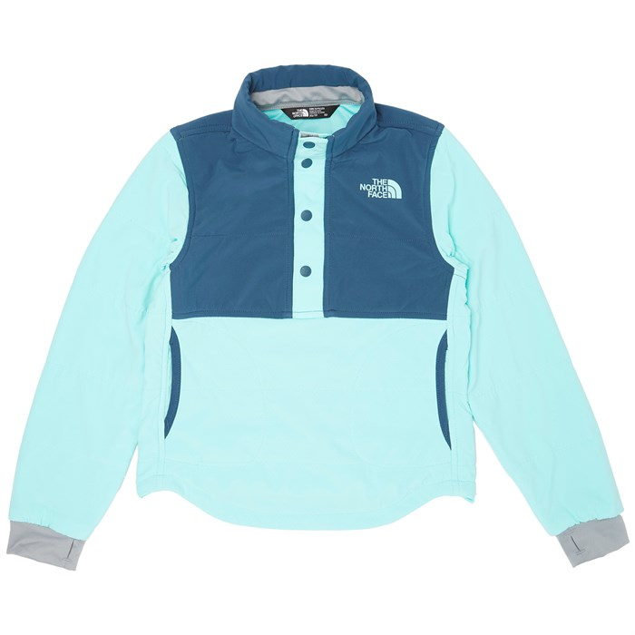 The North Face - Mountain 1/4 Snap Sweatshirt - Big Girls'