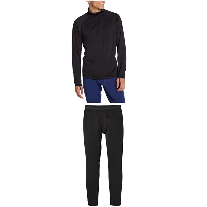 Patagonia - Capilene® Midweight Zip-Neck Top + Midweight Bottoms