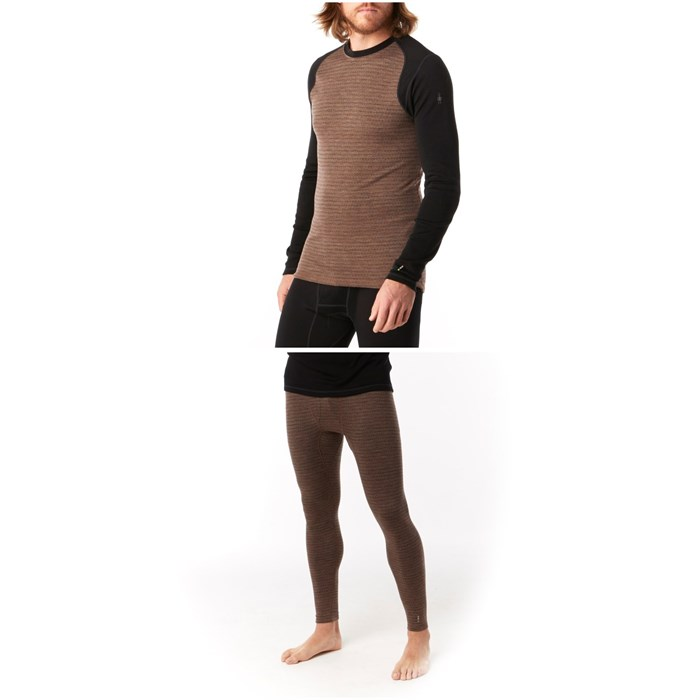 Smartwool - Merino 250 Pattern Baselayer Crew Top + Bottoms