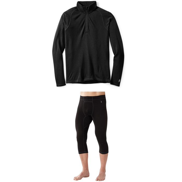 Smartwool - Merino 250 Baselayer 1/4 Zip Top + 3/4 Bottoms